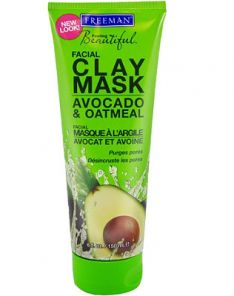 FREEMAN Feeling Beautiful Avocado & Oatmeal Clay Mask