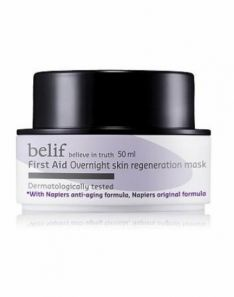 Belif First Aid Overnight Skin Regeneration Mask