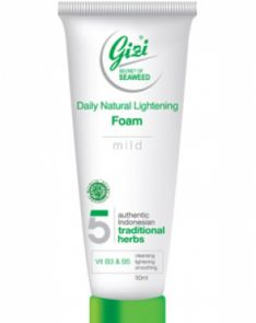 Gizi Cosmetics Daily Natural Lightening Foam (Mild)