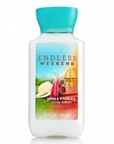 Bath and Body Works Endless Weekend Body Lotion
