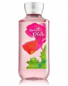 Bath and Body Works Sweet Pea Shower Gel
