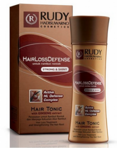 Rudy Hadisuwarno Hair Loss Defense Hair Tonic