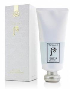 The History of Whoo Brightening Cleansing Foam