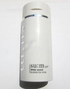 SUM37 White Award Bubble-De Mask