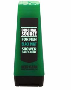 Original Source For Men Black Mint Shower Hair and Body