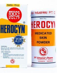 HEROCYN Medicated Skin Powder