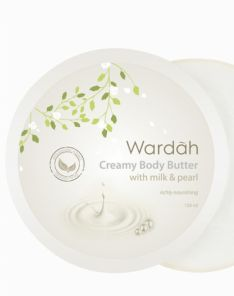 Wardah Milk and Pearl Body Butter