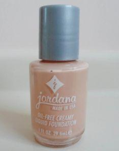 Jordana Oil Free-Creamy Liquid Foundation
