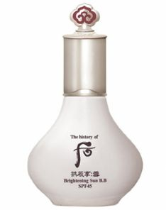 The History of Whoo Seol Whitening BB Sun Cream SPF45