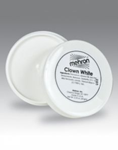Mehron White Clown Makeup