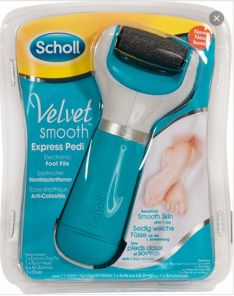 SCHOLL VELVET SMOOTH EXPRESS PEDI