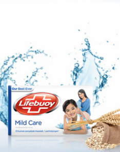 Lifebuoy Mild Care Soap Bar