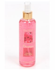Champagne Cherry Blossom Silkening Body Splash