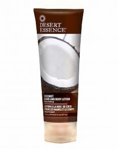 Desert Essence Organics Coconut Hand and Body Lotion
