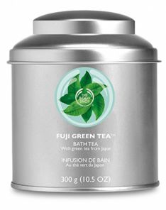 The Body Shop Fuji Green Tea Bath Tea