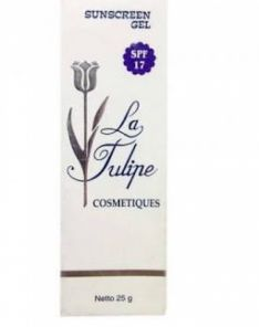 La Tulipe Sunscreen Gel