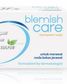 JF Sulfur Blemish Care Transparent Soap