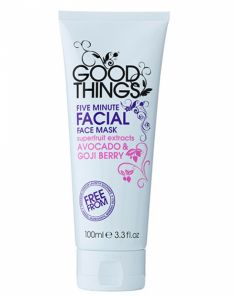 Good Things Five Minute Facial Mask