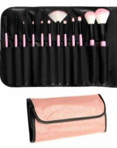 BH Cosmetics 12pc Pink Brush Set