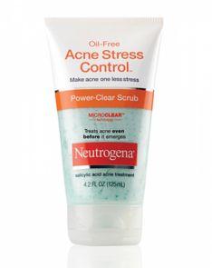 Neutrogena Oil-free Acne Stress Control Power Clear Scrub
