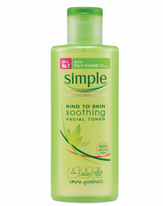 Simple Simple Soothing Facial Toner