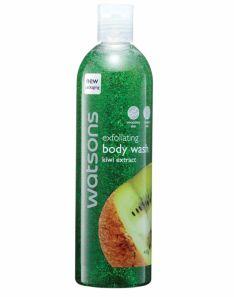 Watsons Exfoliating Body Wash Kiwi