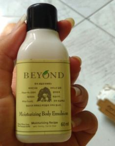 Beyond moisturizing body emultion