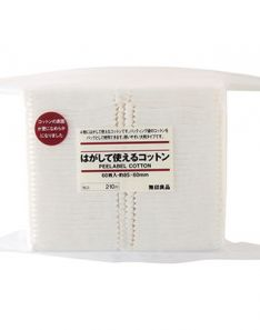 Muji Peelable Cotton