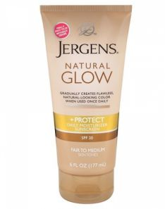 Jergens Natural Glow + Protect Daily Moisturizer With Sunscreen Broad Spectrum SPF 20