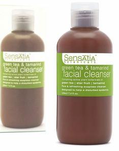 Sensatia Botanicals Green Tea and Tamarind Facial Cleanser