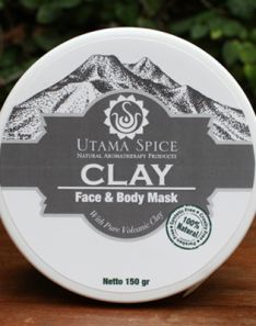 Utama Spice Clay Face and Body Mask