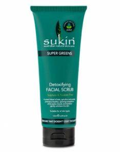 Sukin SUPER GREENS - DETOXIFYING FACIAL SCRUB