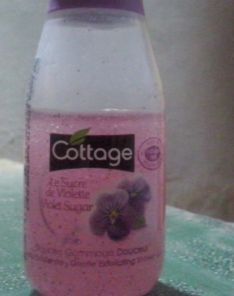 Cottage gentle exfoliating shower gel 50ml
