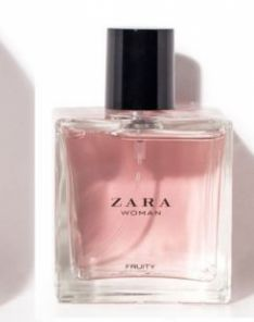 ZARA WOMAN FRUITY EAU DE TOILETTE