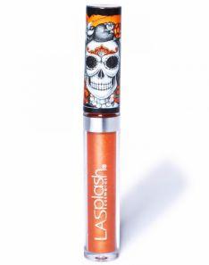 LA splash Studio Lip Shine Dia De Los Muertos