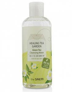 the SAEM Healing Tea Garden Green Tea Cleansing Water