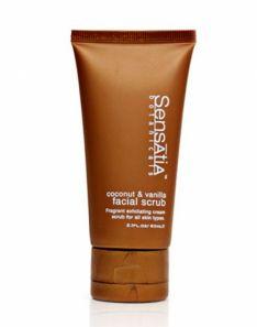 Sensatia Botanicals Coconut and Vanilla Facial Scrub