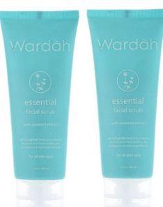 Wardah Essential Facial Scrub Seaweed