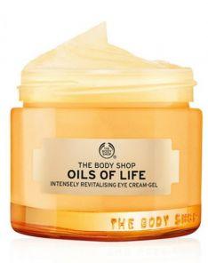 The Body Shop oil of life intensely Revitalising Eye Cream-Gel