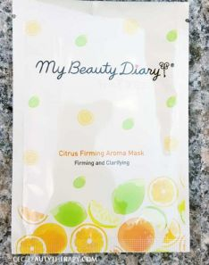 My Beauty Diary Mask Sheet