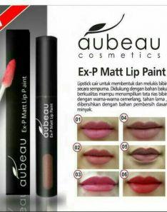 Aubeau Ex-P Matt Lip Paint