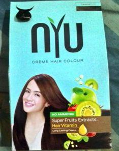 NYU Hair Colour creame hair colour