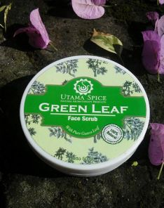 Utama Spice Green Leaf Face Mask & Scrub