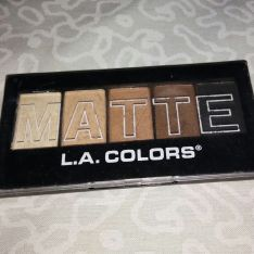LA Colors L.A. COLORS 5 Color Matte Eyeshadow