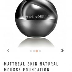 lakme mattreal skin natural mousse foundation