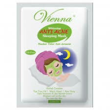 Vienna Vienna Face Mask Sleeping Anti Acne