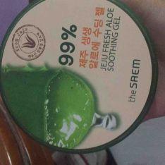 the SAEM the saem 99% aloe vera soothing gel
