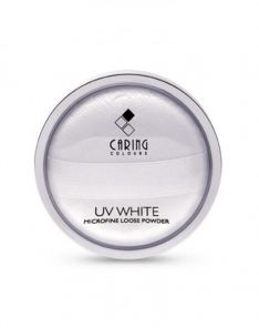 Caring Colours UV White Microfine Loose Powder