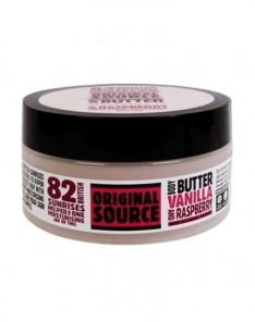 Original Source Vanilla and Raspberry Body Butter