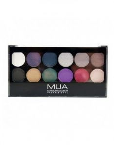 MUA Makeup Academy 12 Shade Glamour Nights Palette